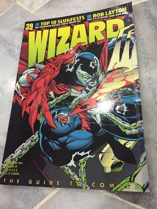Wizard issue 39 year 1994