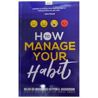 How To Manage Your Habit