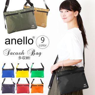 🇯🇵日本品牌アネロ(anello)MF BETA多存儲Sakosshu腰袋 實用 多袋 時尚💯100%正品日本直送✈️