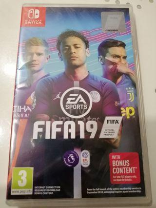 FIFA19 Nintendo Switch BNIB