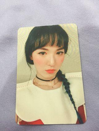 [WTS] Red Velvet Rookie Wendy PC