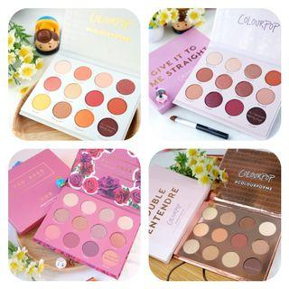 Colourpop 眼影盤 🌻❤🍷🌺🌹⭐🌞 Pressed Powder Shadow Palette (Yes please give it to me straight)