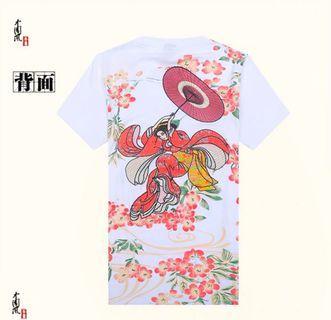 [店面現貨秒發]原價1380元 特價385元 熱銷 刺繡 日本 日系風格 燙金 櫻花 中國風 全台最低價 售完為止