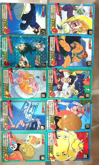 Vintage Dragonball Z/ GT cards - collectibles - RM15 percard 🌿 Mint condition! #RayaHome