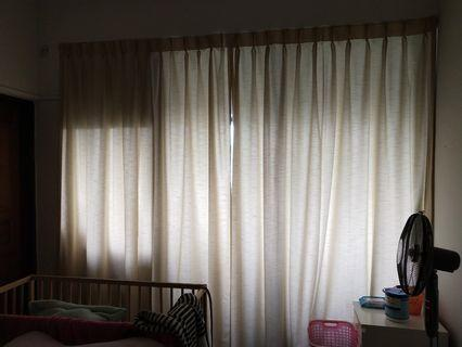 Whole Flat Curtains for Condo