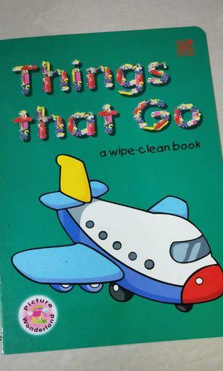 Things To Go Book