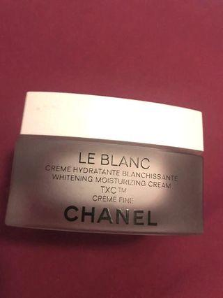 100% Real - Chanel Le Blanc Creme Fine #summer19