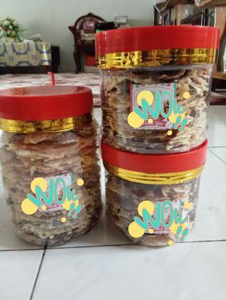 Kuih Raya- biskut kapit crispy