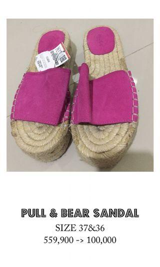 Pull & bear sandal (36)