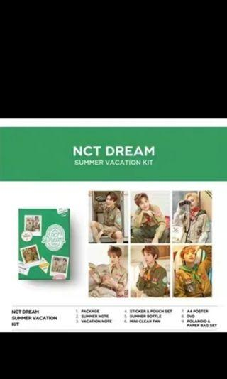 Nct dream nct summer vacation kit [PREORDER]