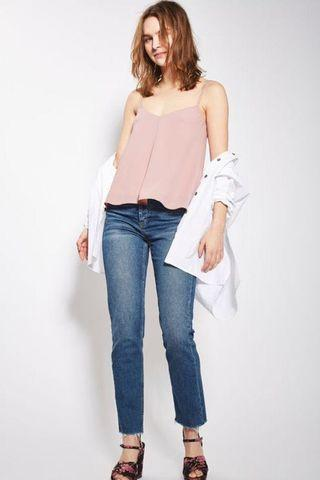 Topshop Rouleau Swing Top