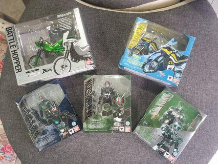 Retired Selling My Shf Kamen Rider Collection