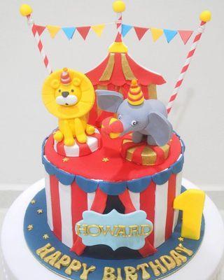 🚚 Circus cake
