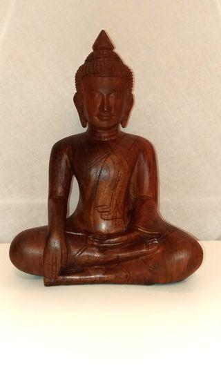 Wooden Buddha From Cambodia