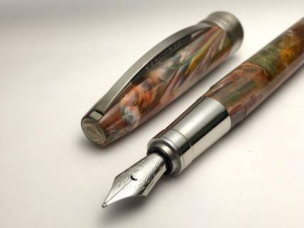 義大利 Visconti 梵谷 系列 無梢柳樹道 Van Gogh Pollard Willows 佛羅倫斯工廠貨 鋼筆