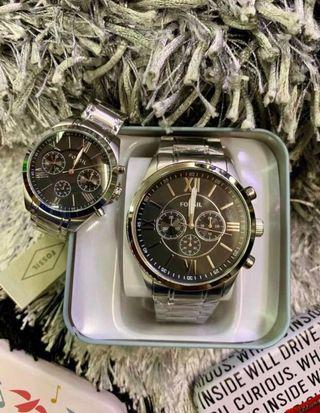 Fossil Watch couple