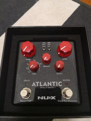Nux Atlantic Delay & Reverb guitar effect