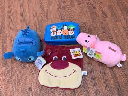🚚 迪士尼系列商品,火腿、熊抱哥、史迪奇、TSUM收納包