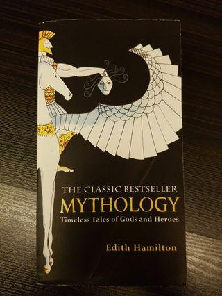 008. Mythology : Timeless Tales of Gods and Heroes, 75th Anniversary Illustrated Edition, By Edith Hamilton