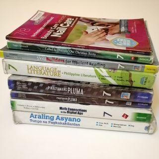 PRE💙D Grade 7 Textbooks - Hand-me-downs