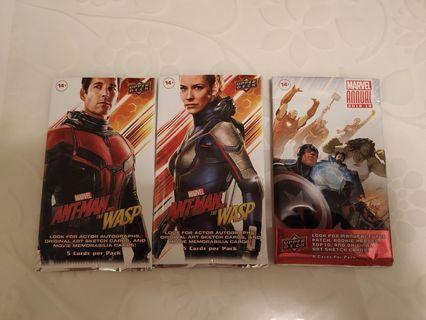 徵收Upper Deck Marvel card pack