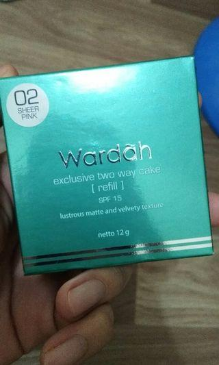 WARDAH EXCLUSIVE TWO WAY CAKE REFILL