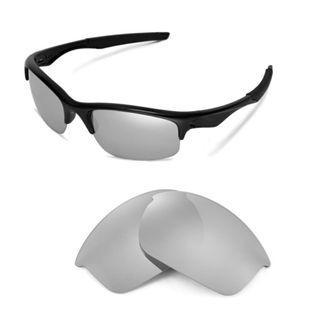 Bottle Rocket Titanium POLARIZED Replacement Walleva Lenses for Oakley Bottle Rocket Sunglasses