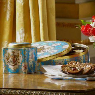 英國白金漢宮Royal Collection(皇室徽章)英式紅茶罐125克50包