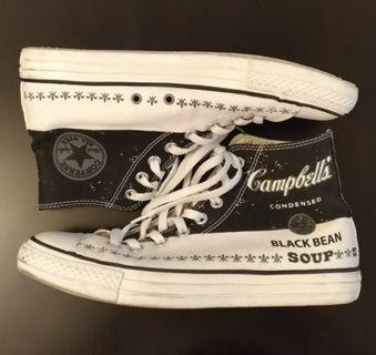 Converse Andy Warhol Campbell's Black Bean Soup