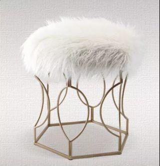 European Vanity Dresser Stool