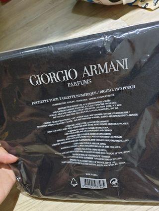 Giorgio Armani digital pad pouch