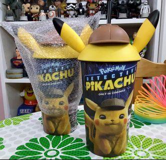 🎂 POKEMON DETECTIVE PIKACHU Soft Drink Cup Tumbler