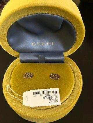 Brand new gold Gucci earrings