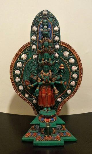 Tibetan thousand arms Avalokitesvara
