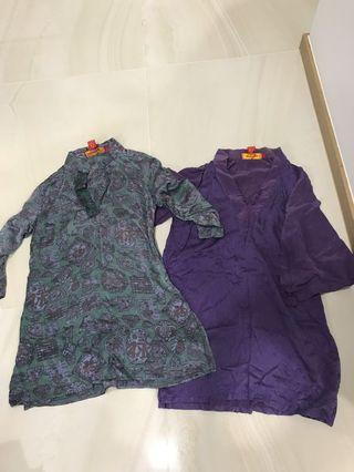 SHANGHAI Tang silk  blouse Authentic