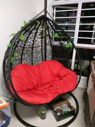 🚚 Hanging chair for 2 seater for sale
