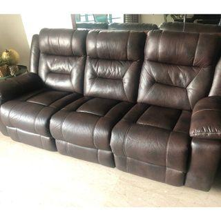 Recliner sofa for quick sale - Not Leather