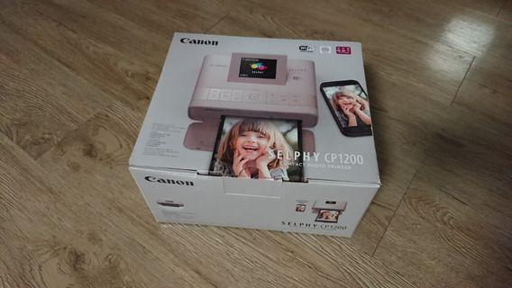 Canon Selphy CP1200 印相