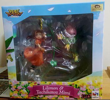 MEGAHOUSE Digimon Adventure Lilimon & Tachikawa Mimi(JAPAN VERSION)