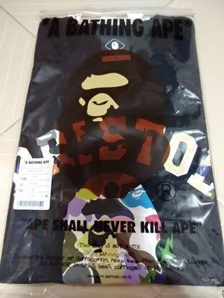 Bape X FCRB Collage Tee