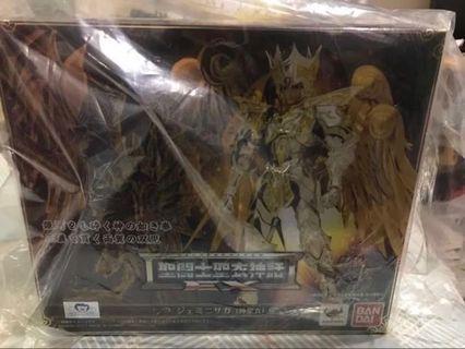 全新 聖鬥士星矢 ex 雙子座 神聖衣 日版 Bandai