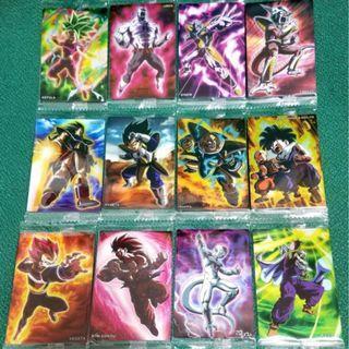 歡迎散買 龍珠餅卡 Dragon Ball Unlimited 3 全新12張咭 孫悟空 布洛尼 布羅利 比達 菲利