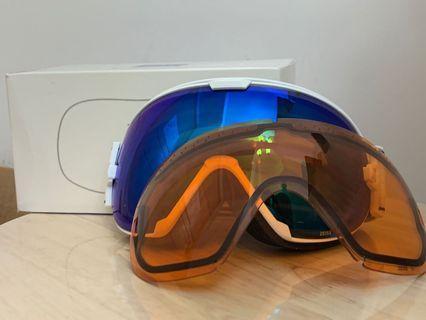 德國 ZEISS滑雪鏡 (連替換鏡片)