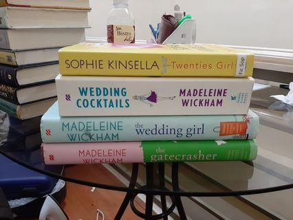 Sophie Kinsella and Madeleine Wickham books