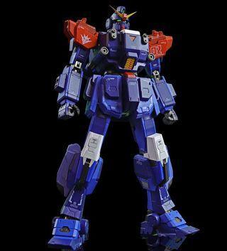 Funhobby 藍色命運BD2 MG Size 1/100 合金骨架 USB充電會發聲可着燈 (圖為陳列 商品全新)
