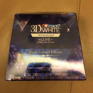 Crest 3D White 美白牙貼