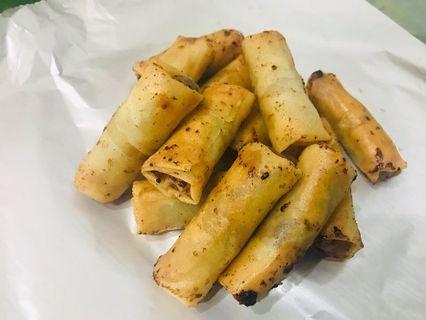 Lumpianisa - Longganisa Flavoured Spring Roll