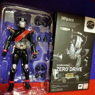SHF Kamen Rider Zero Drive 只開盒檢查 冇扭任何關節 99%新 日版 魂商店 限定 幪面超人 假面騎士 Masked Rider