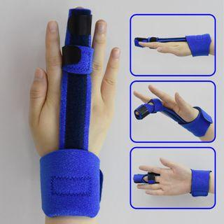 Adjustable Metal Finger Orthosis Correction Trainers Function Recovery Finger Sp