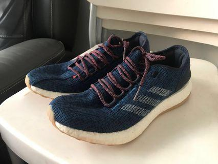 Adidas pure boost blue navy UK9 US9.5 43.5